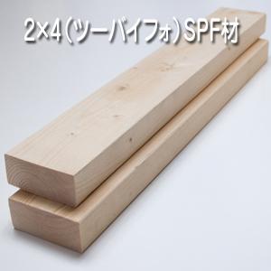 2×4(ツーバイフォ)SPF材
