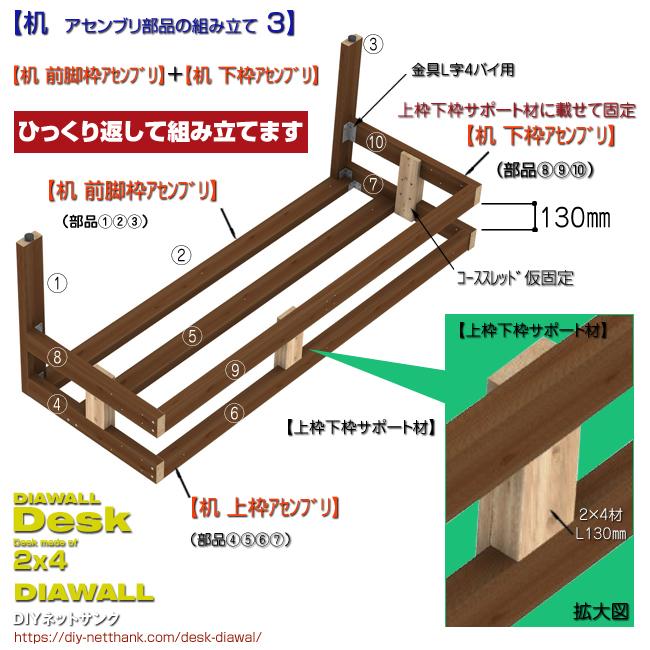 机 アセンブリ部品の組み立て 3