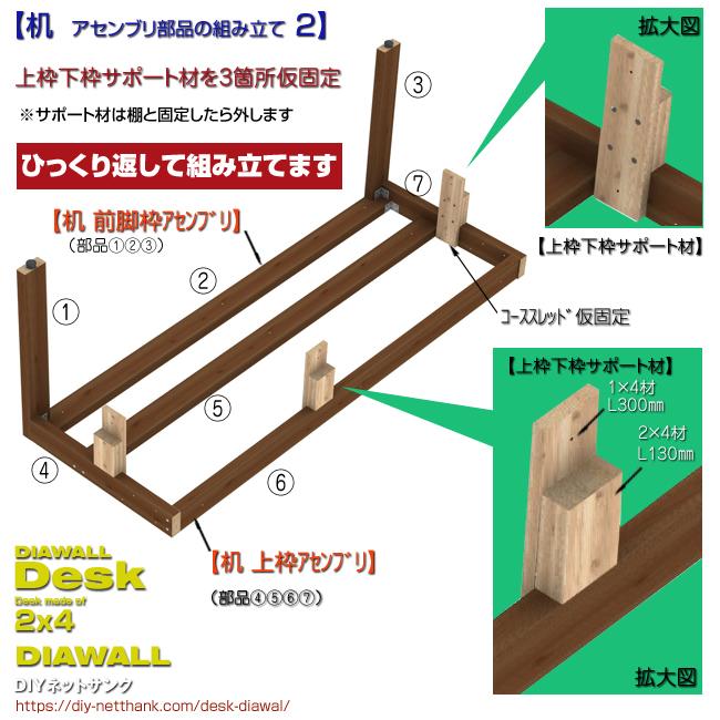 机 アセンブリ部品の組み立て 2
